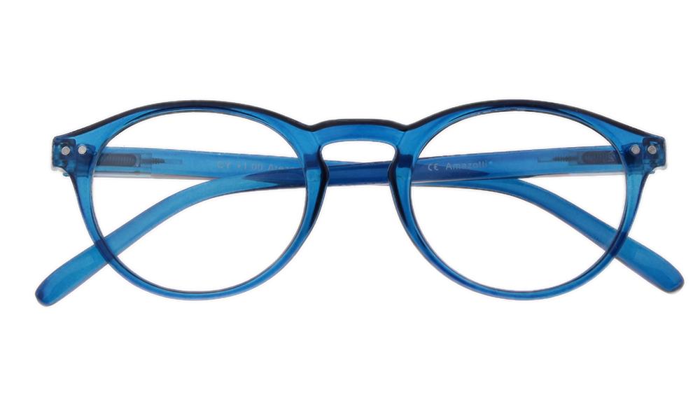 Arezzo model leesbril - Frontview - Blauw - Voorbeeld productfoto