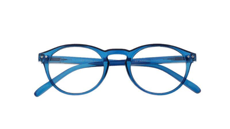 Arezzo model leesbril - Frontview - Blauw