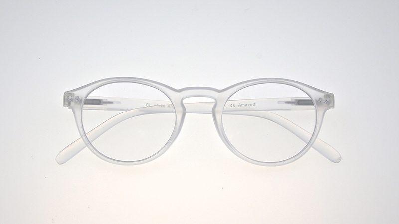 Arezzo model leesbril - Frontview - Transparant
