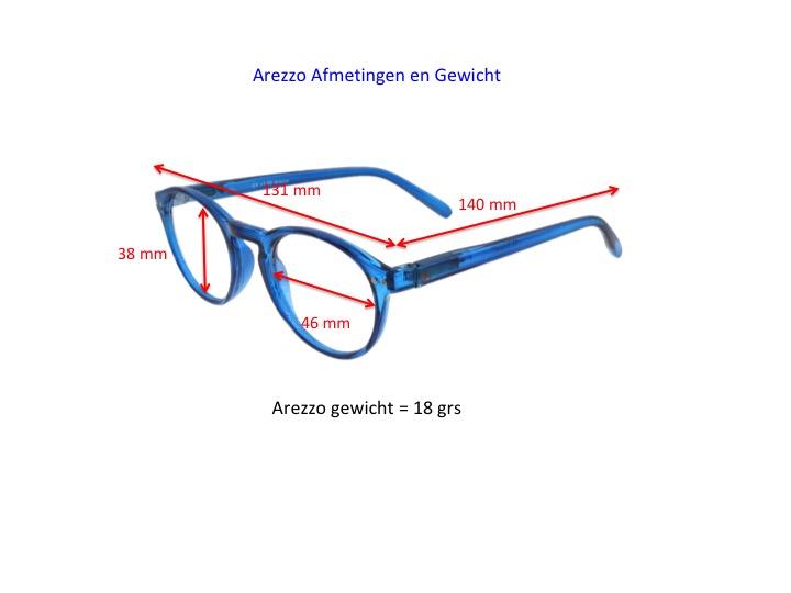 Arezzo productinformatie, afmetingen en gewicht