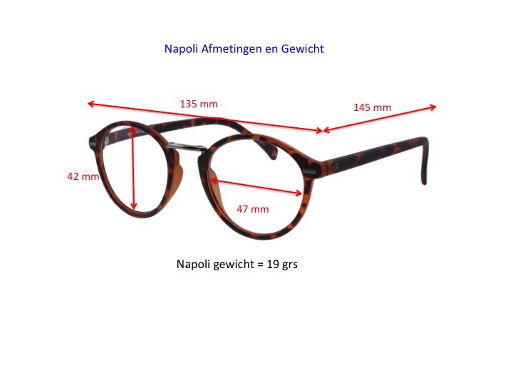 Napoli productinformatie, afmetingen en gewicht