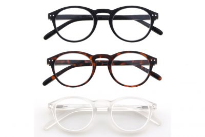 Arezzo Leesbrillen Set - Zwart, Bruin & Transparant - 1200x800